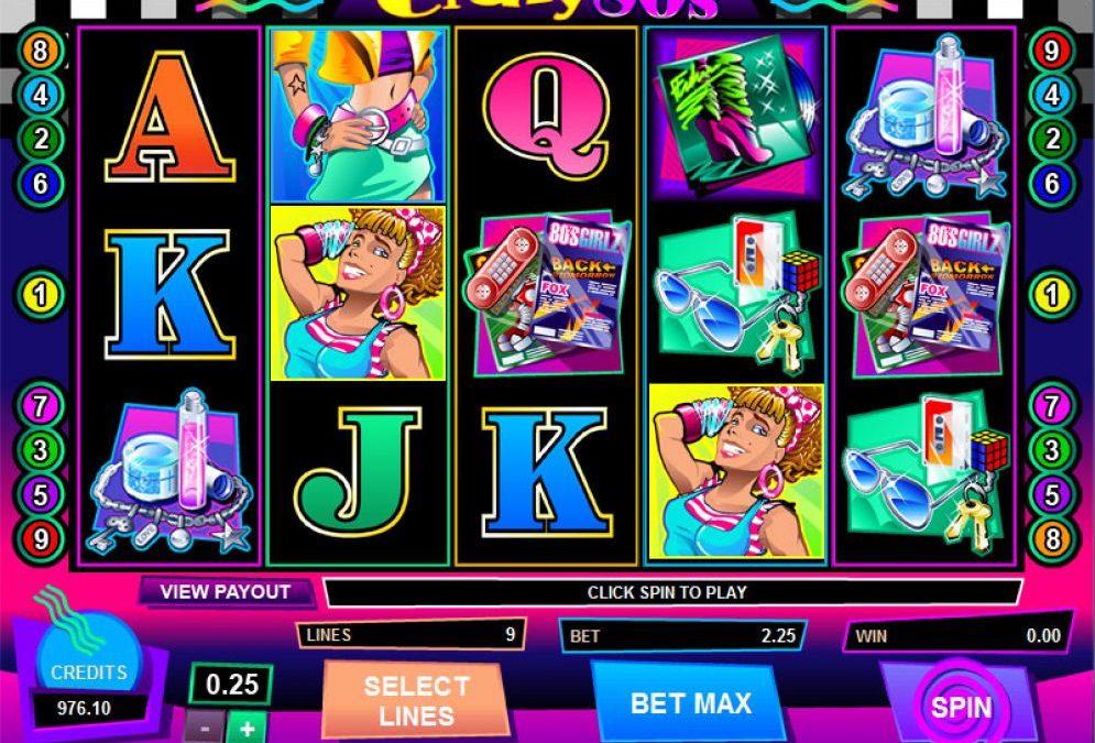 Crazy 80's Slot Machine Games